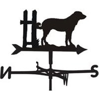 Product photograph showing Weathervane In Anatolian Shepherd Design - Large Traditional