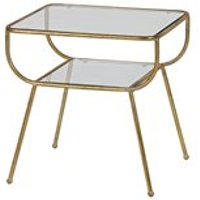 Amazing Side Table in Antique Brass by BePureHome