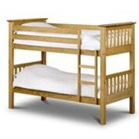 BARCELONA KIDS BUNK BED in Solid Pine by Julian Bowen