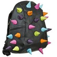 Madpax Spiketus Rex Backpack in Black Multi Colour - Half Pack