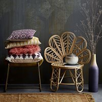 Product photograph showing Bloomingville Natural Cane Emmy Chair