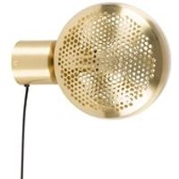 Product photograph showing Zuiver Gringo Wall Light In Brass