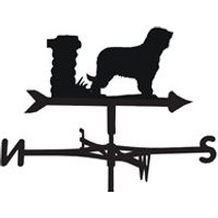 Product photograph showing Weathervane In Briard Design - Large Traditional