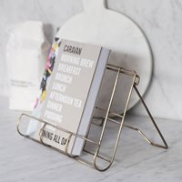 Product photograph showing Garden Trading Brompton Cook Book Holder