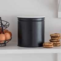 Product photograph showing Garden Trading Brompton Biscuit Tin