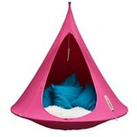DOUBLE HANGING CACOON in Fuchsia Pink
