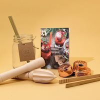 Product photograph showing Luckies Calm Club Mocktail Faking Kit