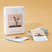 Product photograph showing Luckies Calm Club Yoga Deck