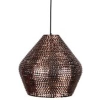 Dutchbone Cooper Handmade Ceiling Light in Sparkling Copper Finish - Large
