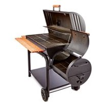 OUTDOOR OUTLAW CHARCOAL BBQ with Smoker