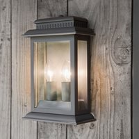 Product photograph showing Garden Trading Belvedere Outdoor Light In Charcoal