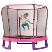 Plum 7ft Junior Jumper Trampoline In Pink & Purple