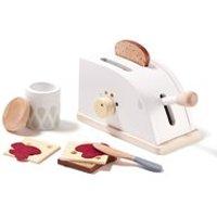 Children's Wooden Toy Toaster Set