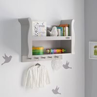 Obaby Stamford Kids Shelving Unit - Taupe Grey