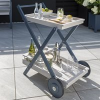 Product photograph showing Galaxy Garden Drinks Trolley