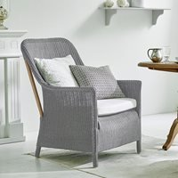 Product photograph showing Sika Woven Dawn Armchair