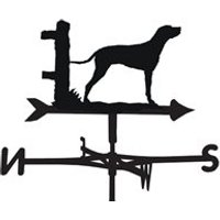 Product photograph showing Weathervane In Dalmatian Design - Large Traditional