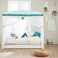 Lifetime Botanical Moonlight Four Poster Bed - Lifetime