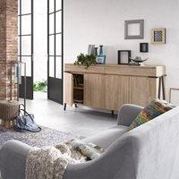 Disset Acacia Wood Sideboard