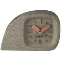 Zuiver Doblo Desk Clock in Concrete Finish