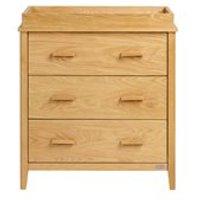 East Coast Nursery Dorset Oak Dresser & Change Unit