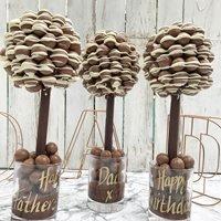 Personalised Malt Drizzle Chocolate Sweet Tree - 65cm
