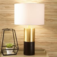 Product photograph showing Pacific Lifestyle Etosha Table Lamp