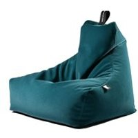 Product photograph showing Extreme Lounging Faux Suede B Indoor Bean Bag - Teal