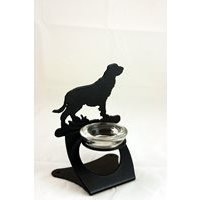 Field Spaniel Twilight Tea Light Holder by the Profiles Range