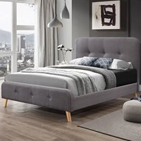 Nordic Upholstered Bed by Flair Furnishings - King