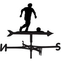 Weathervane in Football Design - Medium (Cottage)