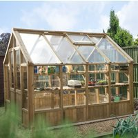 Product photograph showing Forest Garden 10x8 Vale Greenhouse
