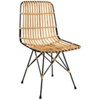 DUTCHBONE KUBU RATTAN DINING CHAIR
