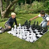 Outdoor Garden Chess Set by Garden Games