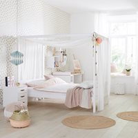 Lifetime Dreams Four Poster Bed - Lifetime Whitewash