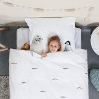 Product photograph showing Snurk Childrens Arctic Friends Duvet Bedding Set