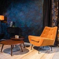 Product photograph showing Dutchbone Glodis Lounge Chair
