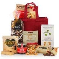 'Gluten & Wheat Free Jute Bag Luxury Gift Hamper