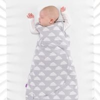 SnuzPouch Sleeping Bag 2.5 Tog in Cloud Nine - 0-6 months