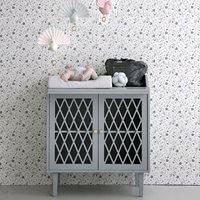 Cam Cam Copenhagen Harlequin Changing Table in Grey