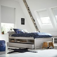 Lifetime Small Double Kids Cabin Bed - Lifetime Whitewash