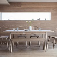 Product photograph showing Hambleden Extendable Dining Table