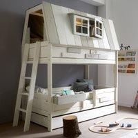 Lifetime Adventure Hangout Kids Bunk Bed - Lifetime White