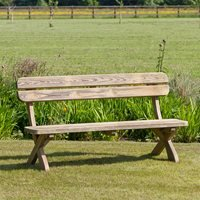 ZEST 4 LEISURE WOODEN HARRIET GARDEN BENCH