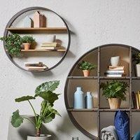Helia Round Wall Shelf