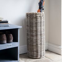 Product photograph showing Garden Trading Holkham Rattan Umbrella Stand