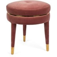 Product photograph showing Bold Monkey I Am Not A Macaron Stool - Teal Blue