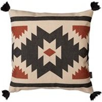 Product photograph showing Icon Boho Aztec Terracotta Outdoor Cushion