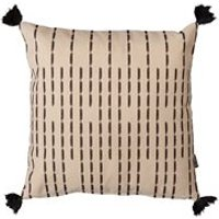 Product photograph showing Icon Boho Broken Stripe Outdoor Cushion