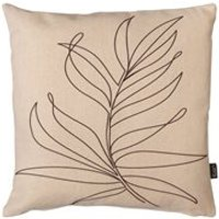 Product photograph showing Icon Boho Linear Leaf Outdoor Cushion